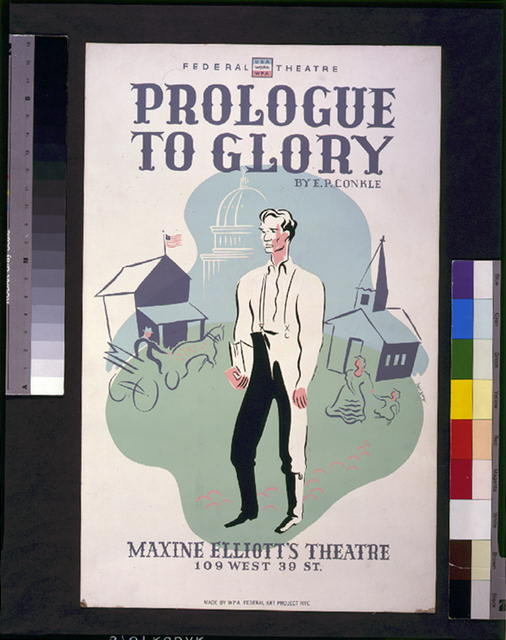 &quot;Prologue to glory&quot; by E.P. Conkle