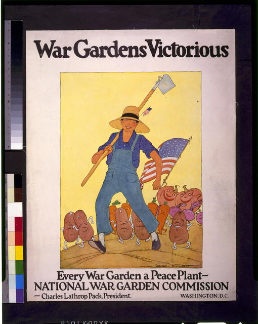 War gardens victorious--Every war garden a peace plant - National War Garden Commission