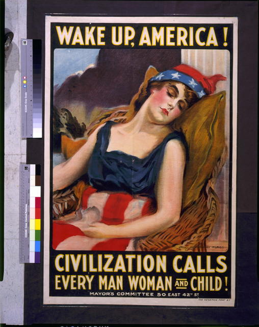 Wake up America! Civilization calls every man, woman and child!