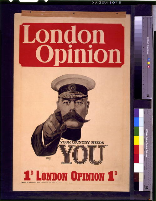 "London opinion ""Your country needs you"""
