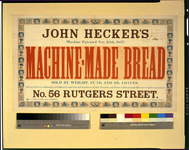 John Hecker's machine-made bread