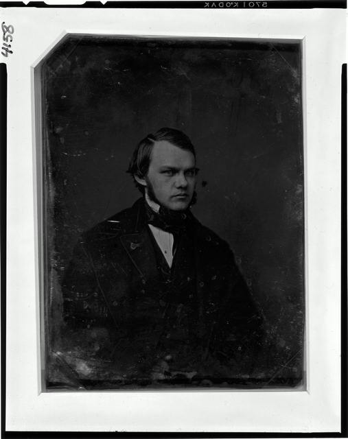 [Henry J. Raymond, half-length portrait, three-quarters to the right]