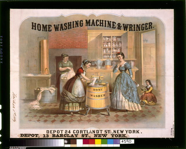 Home washing machine & wringer