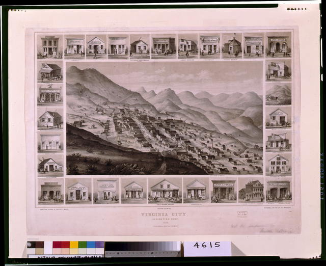 Virginia City, Nevada Territory, 1861