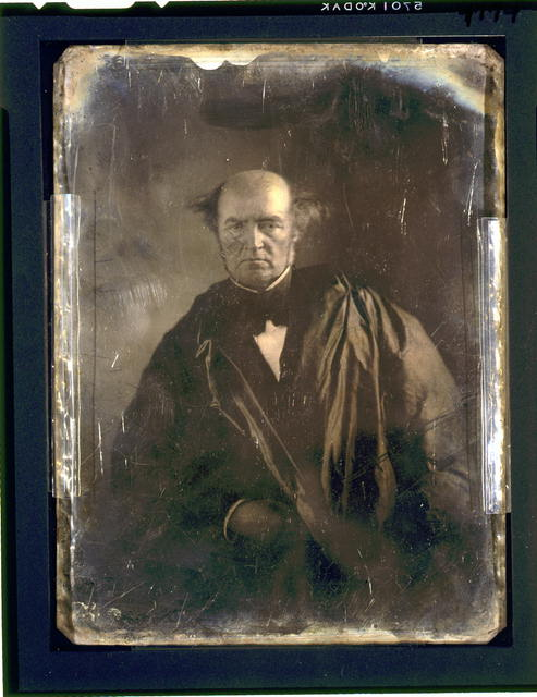 [Levi Woodbury, half-length portrait, facing front, wearing judicial robes]