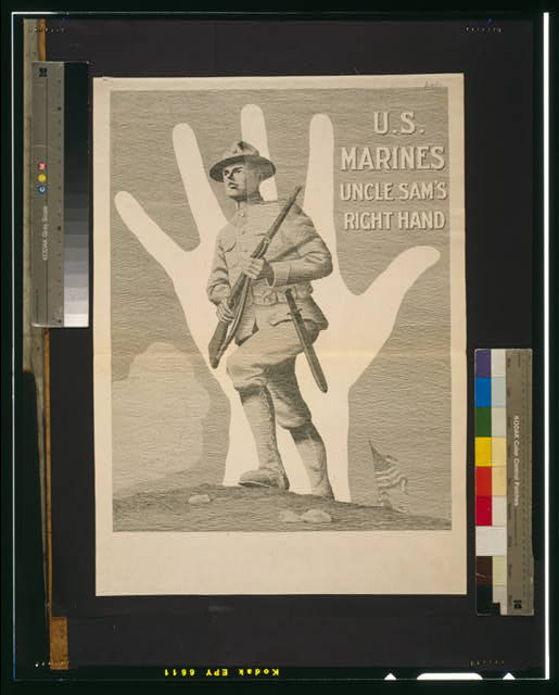 U.S. Marines, Uncle Sam's right hand