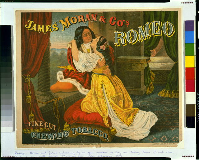 James Moran & Co.'s Romeo, fine cut, chewing tobacco
