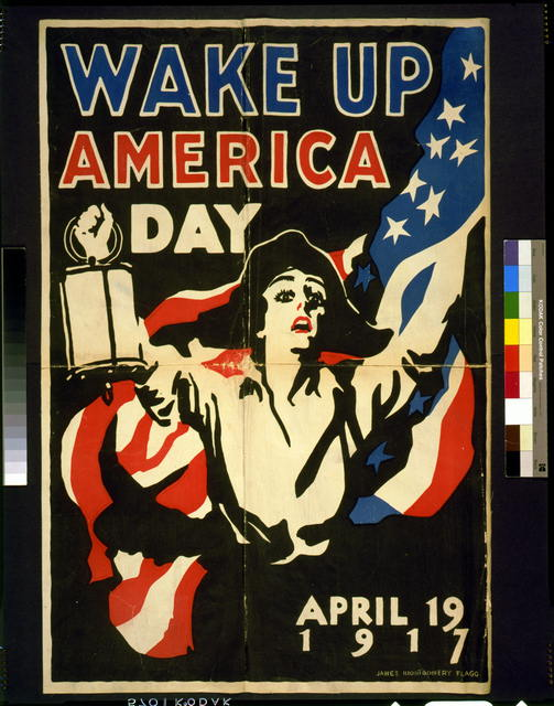Wake up America Day - April 19, 1917