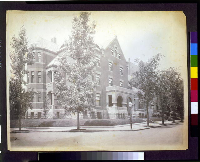 [Home of Mrs. Phoebe Apperson Hearst, 1400 New Hampshire Avenue, N.W., Washington, D.C.]