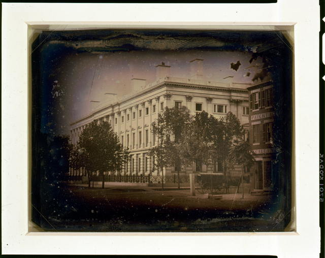 [General Post Office from the corner of 7th Street and E Street, NW, Washington, D.C.]