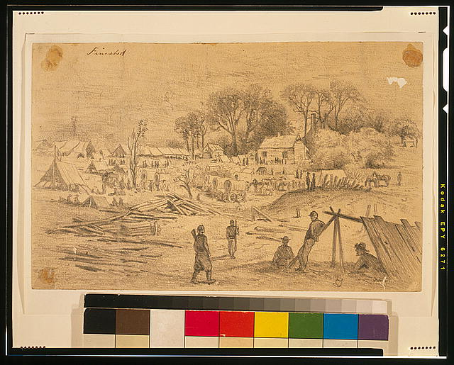 [Field hospital of the 5th Corps (Genl. Warren) at Spotsylvania Court House, Va.]