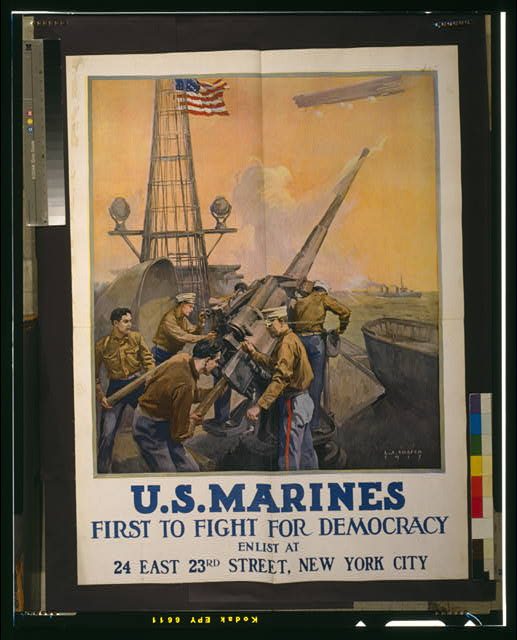 U.S. Marines - first to fight for democracy