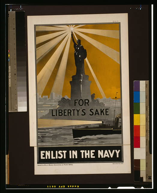 For Liberty's sake, enlist in the Navy