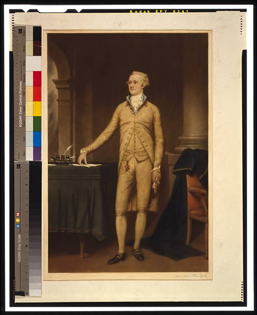 [Alexander Hamilton, full-length portrait, standing, facing left]
