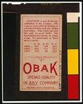 digital file from color film copy transparency, back