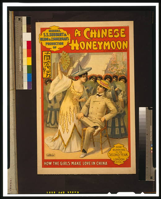 Messrs. S.S. Shubert & Nixon & Zimmerman's production of A Chinese honeymoon by George Dance & Howard Talbot.