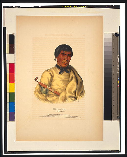 Pee-Che-Kir, a Chippewa chief