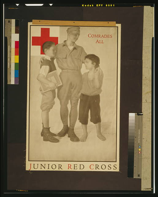Junior Red Cross Comrades all /