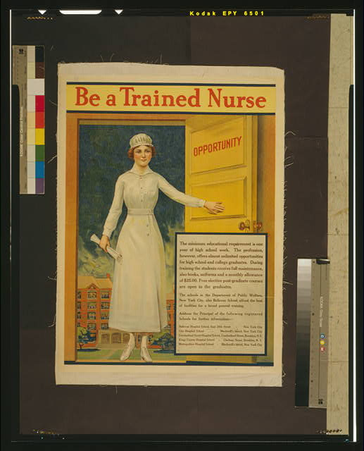 Be a trained nurse