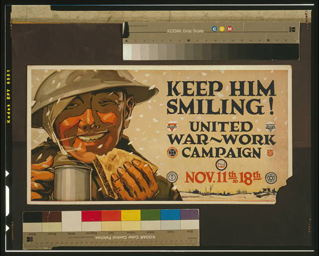 Keep him smiling! United War-Work Campaign, Nov. 11th to 18th.