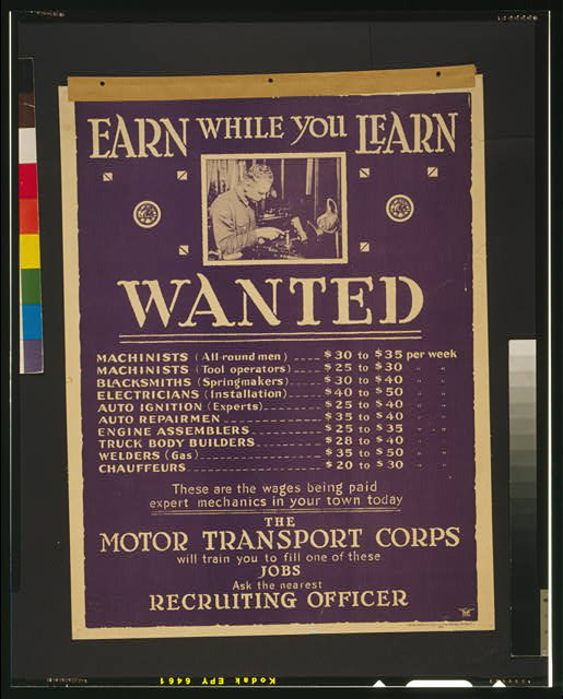 Earn while you learn Wanted machinists [...].