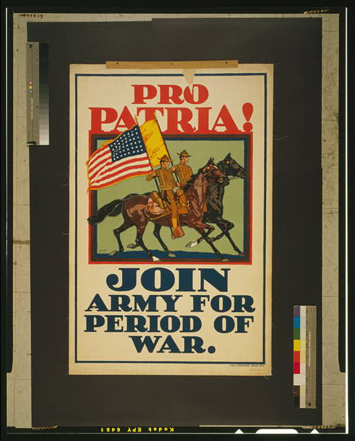 Pro Patria - Join Army for the War