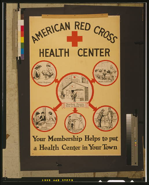 American Red Cross health center Your membership helps to put a health center in your town.