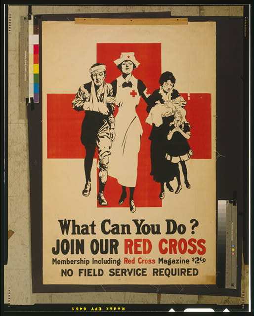 What can you do? Join our Red Cross Membership including Red Cross magazine $2.00 : No field service required.