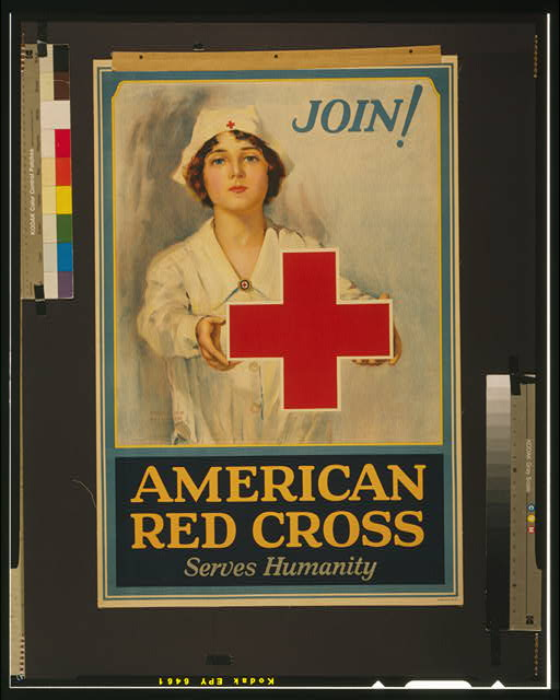 American Red Cross serves humanity Join! /