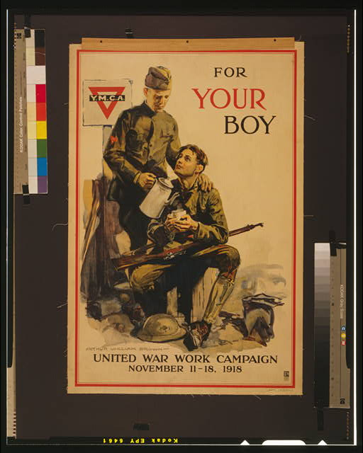 For your boy United War Work Campaign, November 11-18, 1918 /