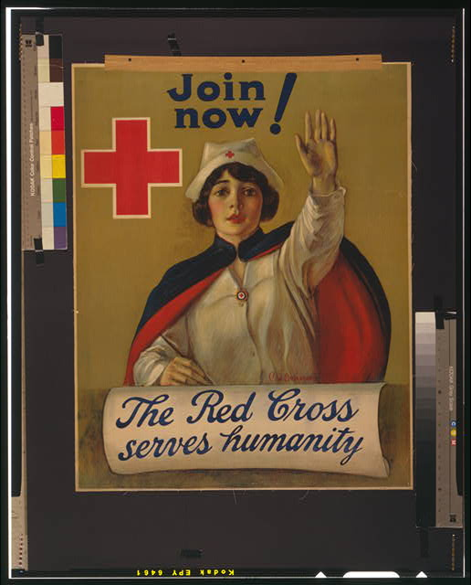The Red Cross serves humanity Join now /