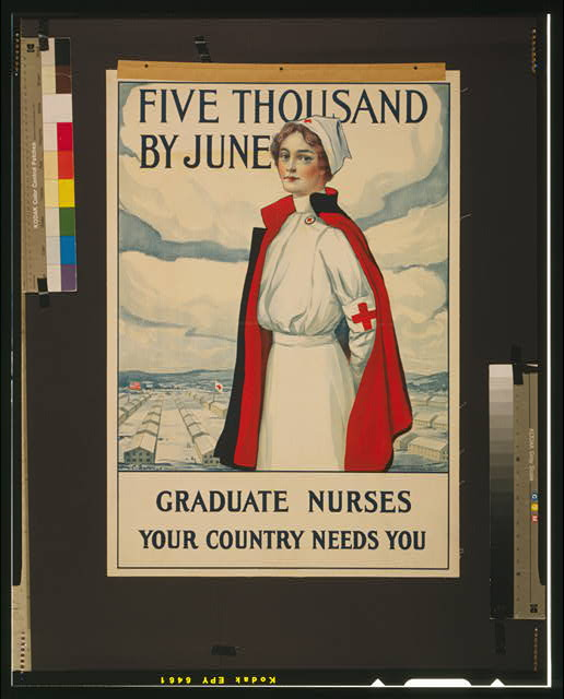 Five thousand by June Graduate nurses your country needs you /
