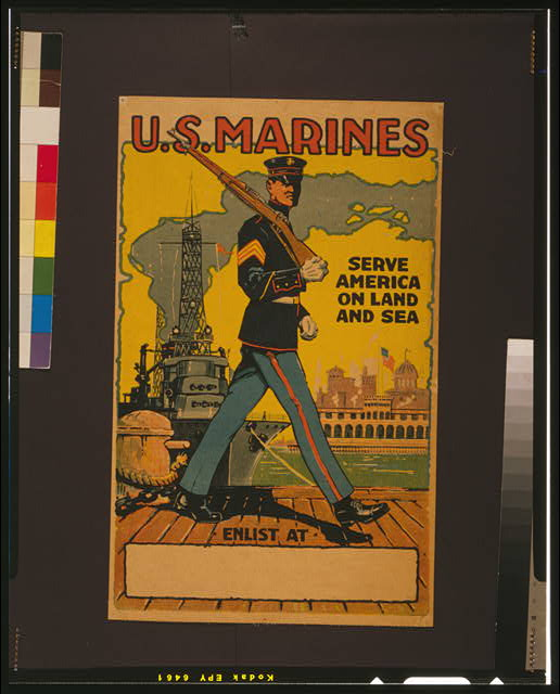 U.S. Marines - serve America on land and sea