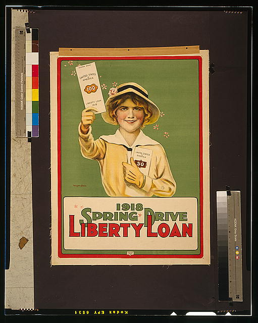 Liberty Loan 1918 Spring drive