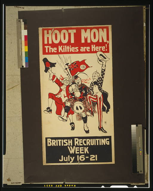 Hoot mon, the kilties are here! British recruiting week July 16-21.
