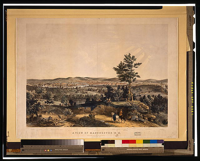 A view of Manchester, N.H.