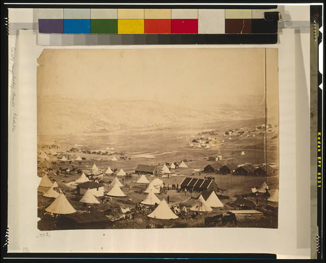Cavalry camp, looking towards Kadikoi