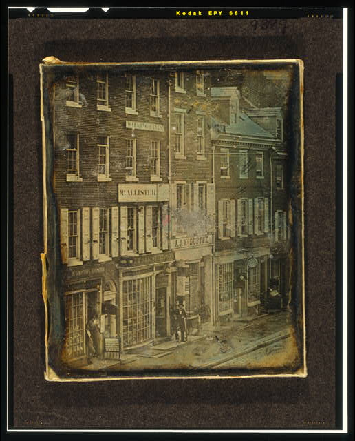 [No. 46 to No. 52, Chestnut Street, Philadelphia, Pennsylvania]