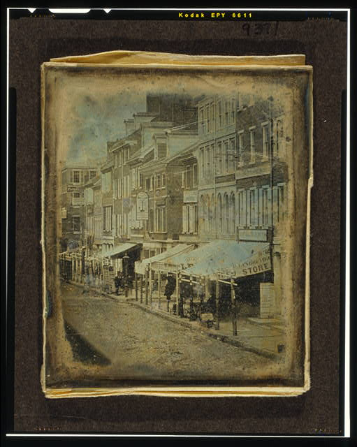 [North side of Chestnut Street, between Second Street and Third Street, Philadelphia, Pennsylvania]