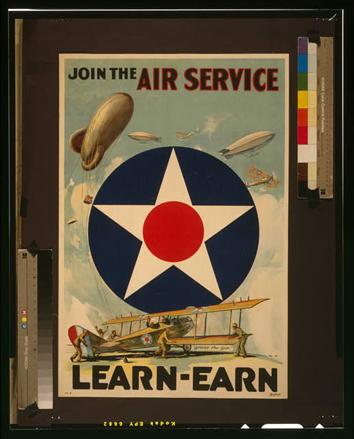 Join the Air Service--Learn-Earn