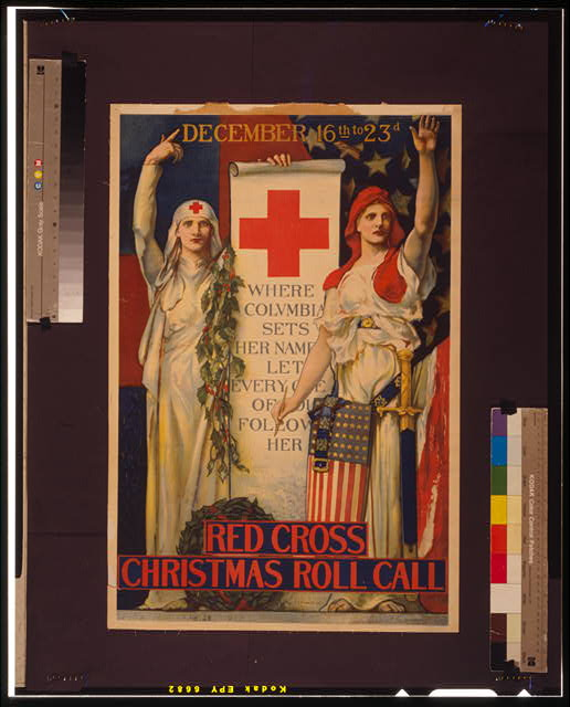 Red Cross Christmas roll call December 16th to 23rd /