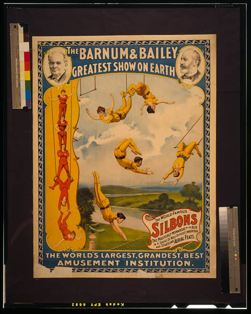 The Barnum & Bailey greatest show on earth The world's largest, grandest, best amusement institution /