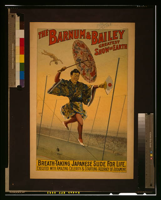 The Barnum & Bailey greatest show on earth Breath-taking Japanese slide for life /