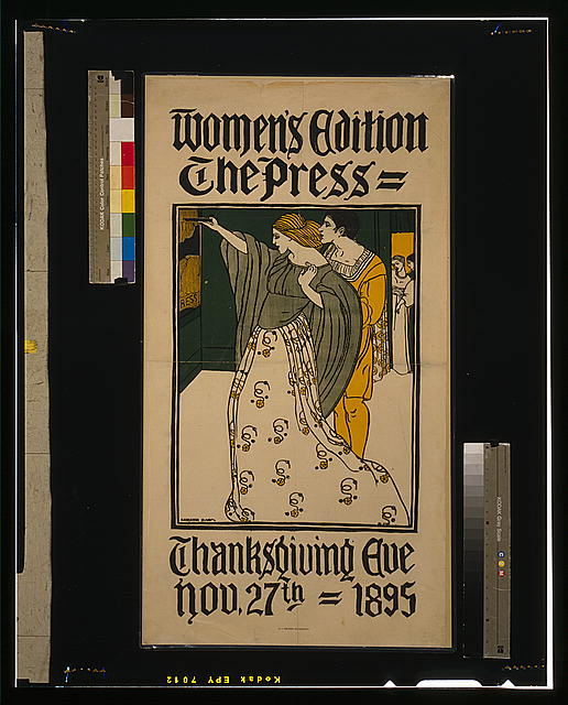 Women's edition - The Press Thanksgiving eve, Nov. 27th 1895 /