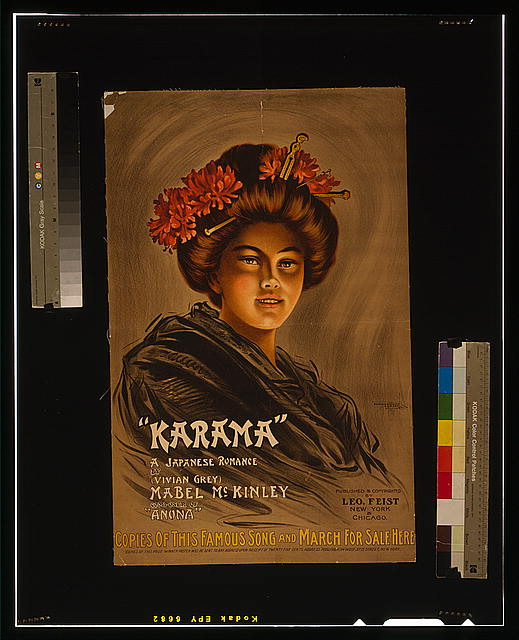 """Karama"" a Japanese romance by (Vivian Grey), Mabel McKinley composer of ""Anona"" /"