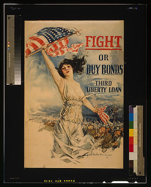 Fight or buy bonds--Third Liberty Loan