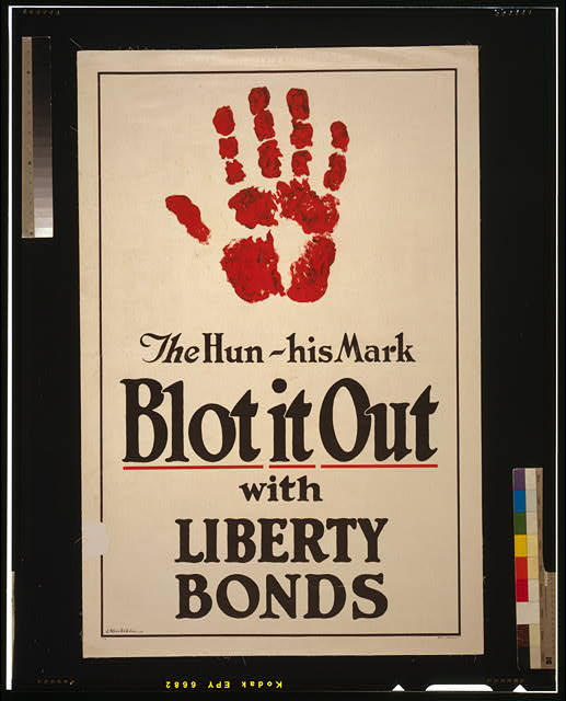 The Hun - His mark - Blot it out with Liberty Bonds