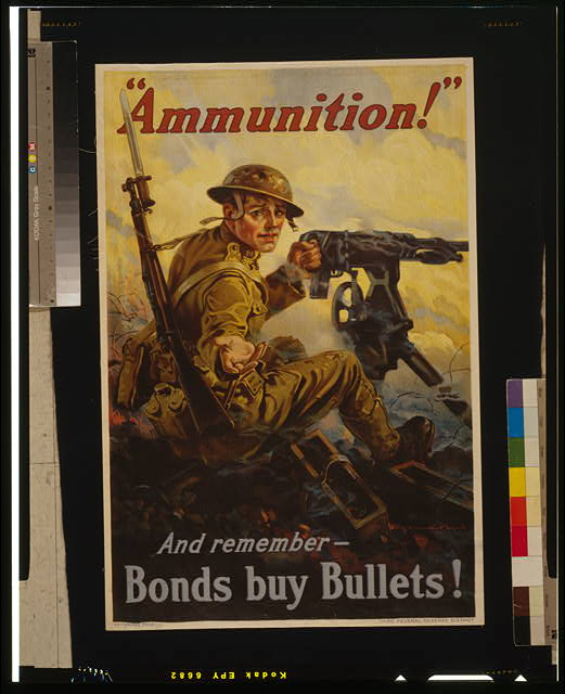 """Ammunition!"" And remember - bonds buy bullets!"