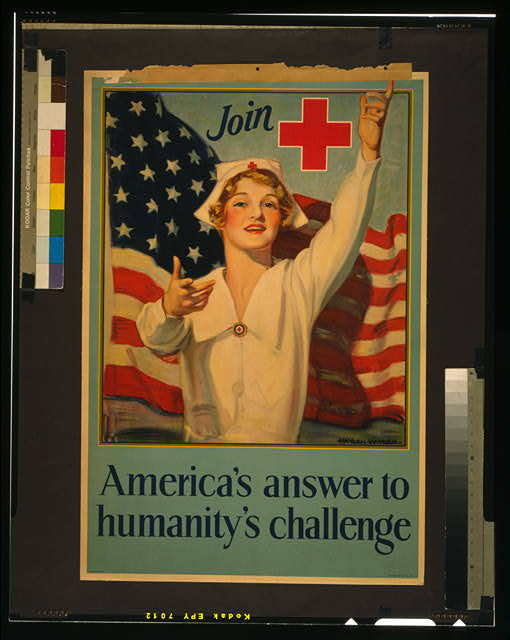 Join [Red Cross symbol] - America's answer to humanity's challenge