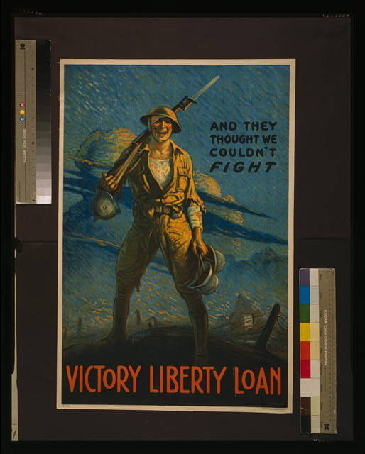 And they thought we couldn't fight - Victory Liberty Loan
